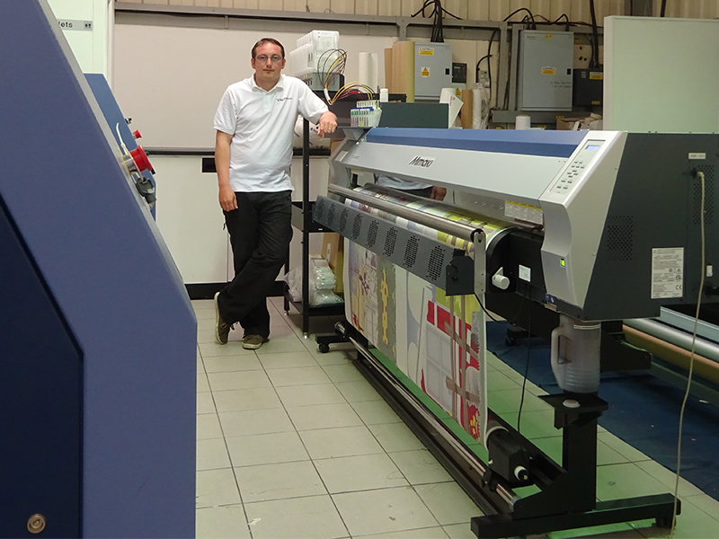 Mimaki Dye-Sublimation Investment Creates New Business