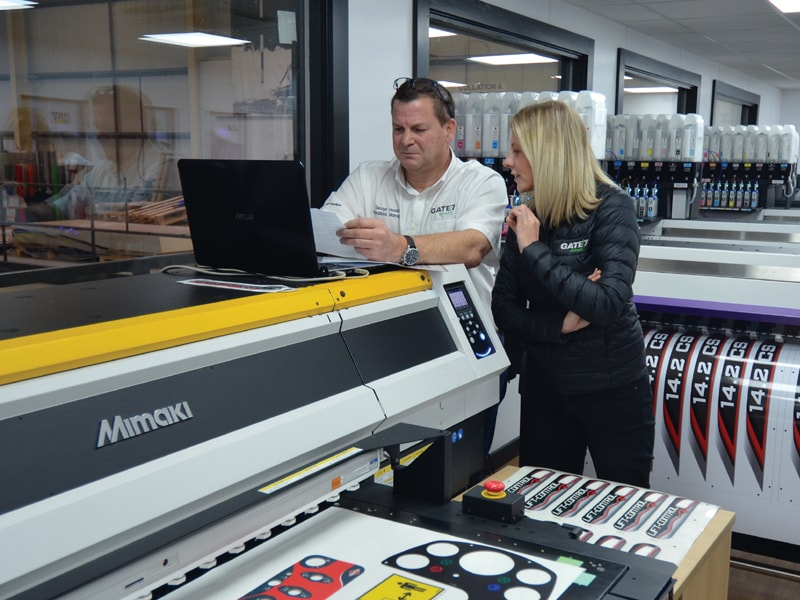 Continued export growth drives Mimaki expansion at Gate 7