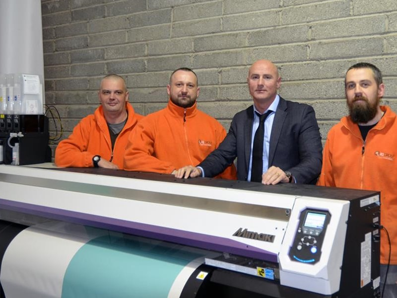 Mimaki JV300 Fits The Bill For Dublin-Based IQ Group