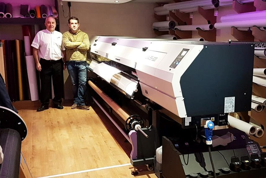 Signscript Ltd Take Things To New Heights With A Mimaki UJV55-320